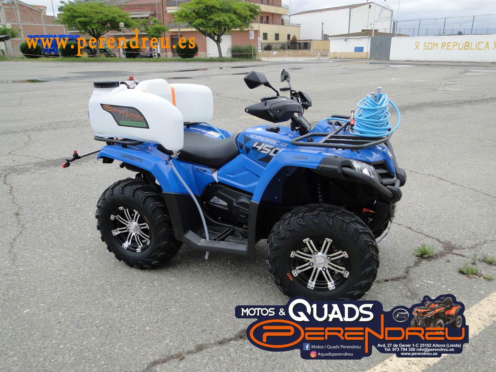Kit desinfección quad