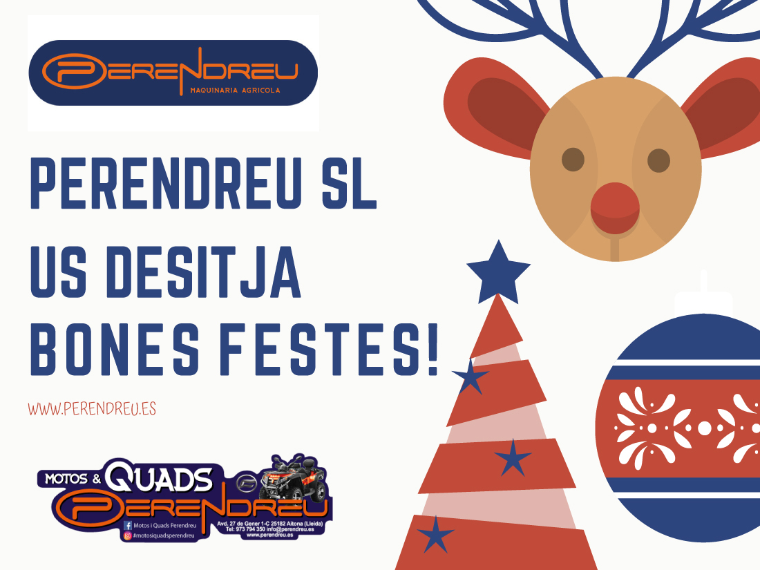Felices fiestas Perendreu